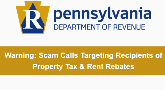 pa tax scam